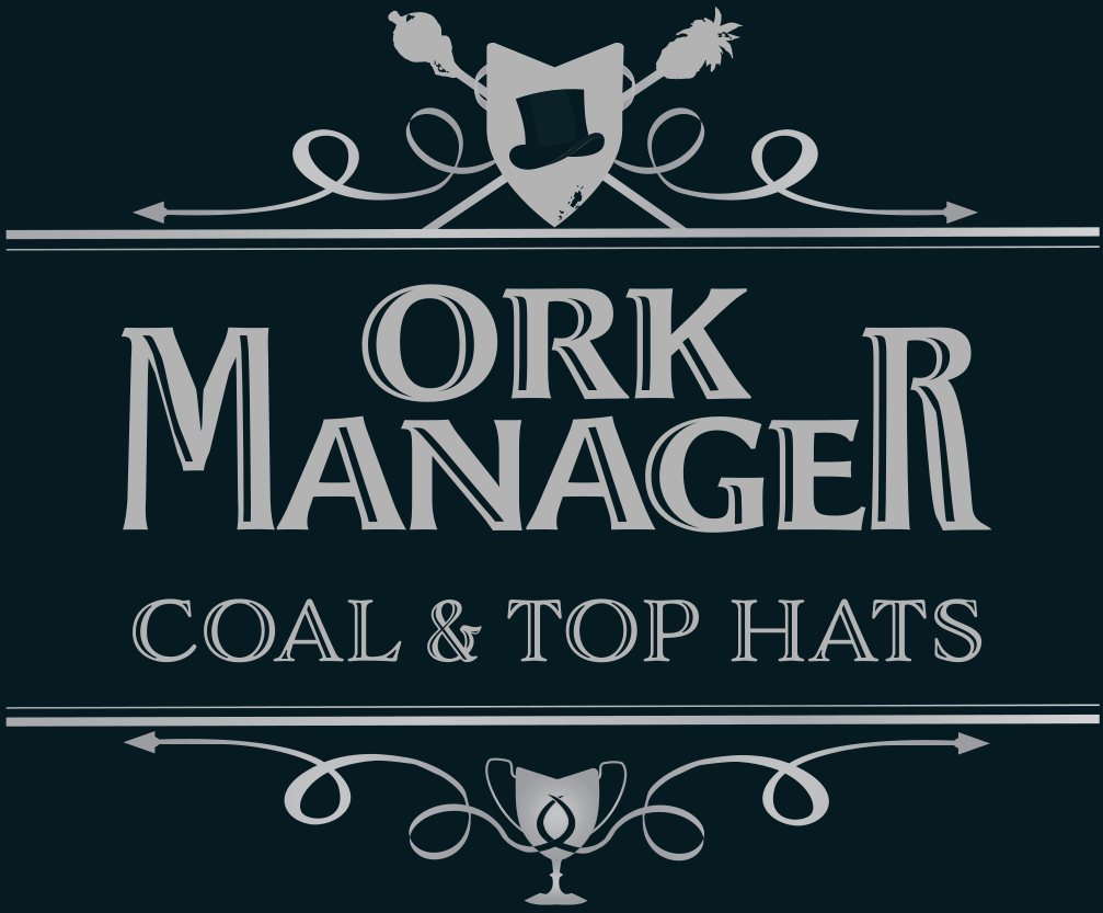Logo • Ork Manager: Coal & Top hats
